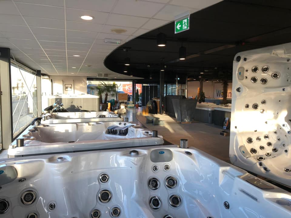 Sunspa Joure - Nieuwe showroom